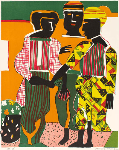 Romare Bearden, 'CONJUNCTION', 1979