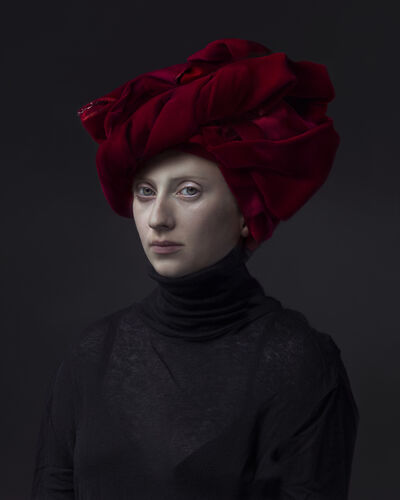 Hendrik Kerstens, 'Red Turban', 2015
