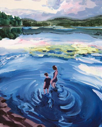 Sebastian Blanck, 'Wading Together'