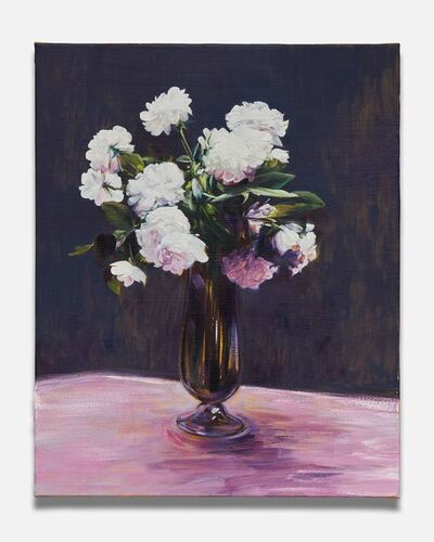 Sam McKinniss, 'White Roses (after Fantin-Latour)', 2018