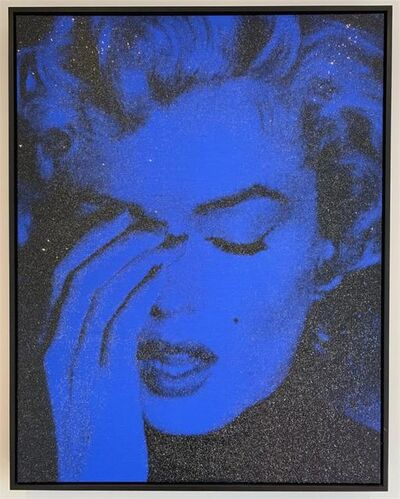 Russell Young, 'Marilyn Crying, Blue ', 2013