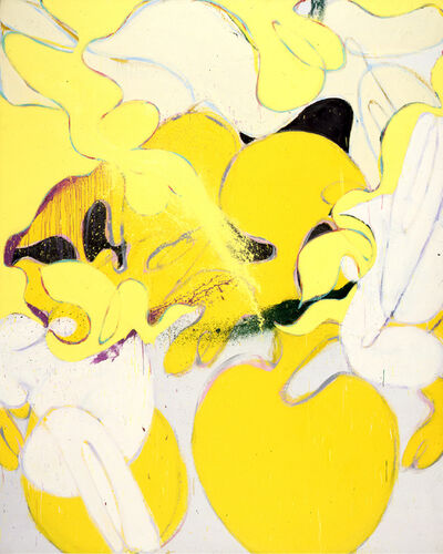 Norman Bluhm, 'Yellow Hooker', 1975