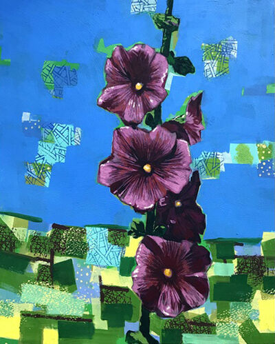 David Gerstein, 'Hollyhock 1', 2019