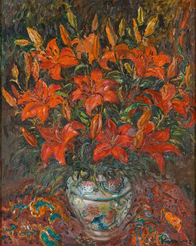 Koeh Sia Yong, 'Lilies', 1992