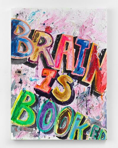 Alicia Gibson, 'Brain is Booked', 2019
