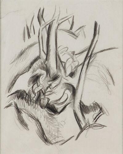 Thomas Hart Benton, 'Tree Study'