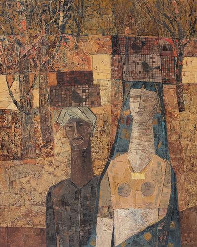J. Sultan Ali, 'Cage Birds', 1962