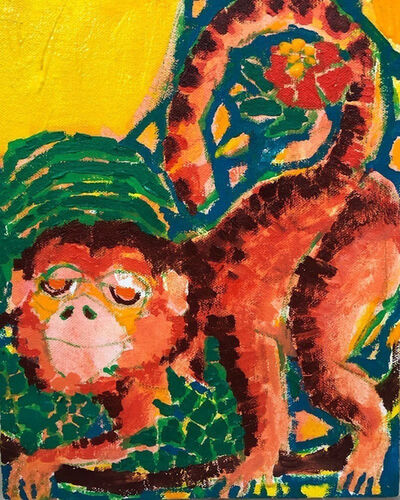 Koichi Sato (b. 1974), 'Monkey Punch', 2021