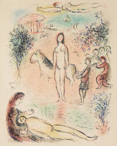 Marc Chagall, 'Frontispiece, Second Volume (M.788, L'Odyssée)', 1974