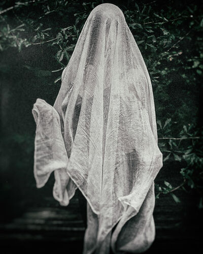 DebiLynn Fendley, 'Ghost On The Track', 2020