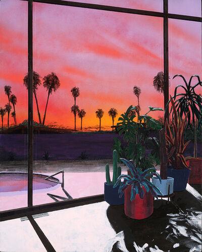 Erik Parra, 'Sunset with Pool', 2020