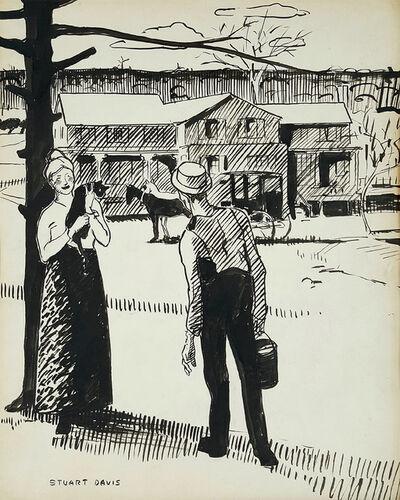 Stuart Davis, 'Country Life', 1922
