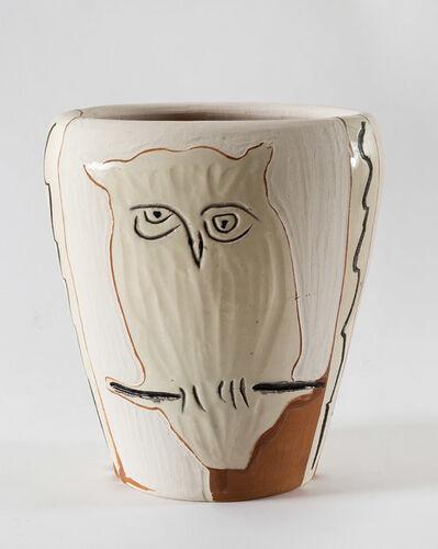Pablo Picasso, 'Visage et hibou, (A.R.407)', 1958