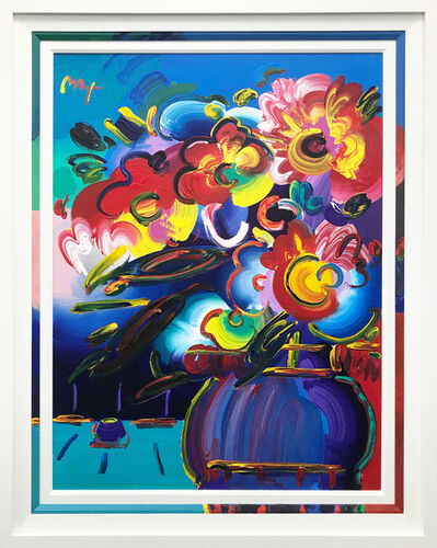 Peter Max, 'VASE OF FLOWERS SERIES 17 VER. IV #1', 2000