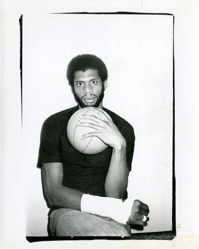 Andy Warhol, 'Kareem Abdul-Jabar', 1977