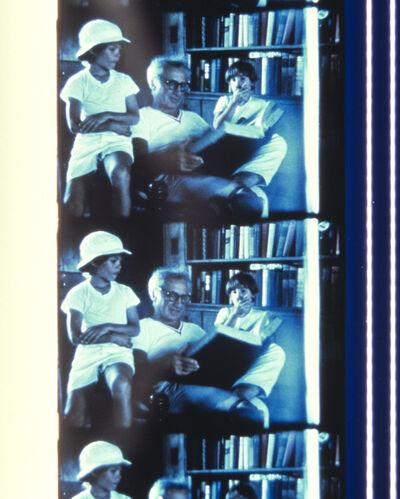 Jonas Mekas, 'Elia Kazan, Reading a Fairy Tale to his son and John Kennedy Jr., Montauk, August 18, 1972', 2013