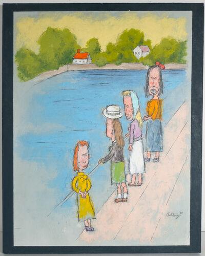 William Anthony, 'Munch Maidens', 1988