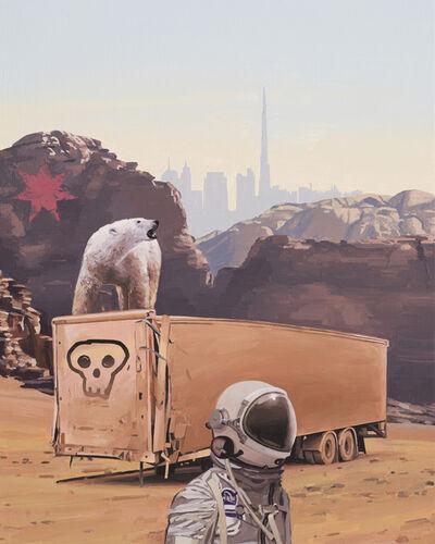 Scott Listfield, 'Deserted Truck', 2019