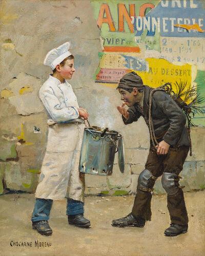 Paul Chocarne-Moreau, 'L'Apprenti Pâtissier et le Petit Ramoneur (The Apprentice Confectioner and the Little Chimney Sweep)', 1815-1918
