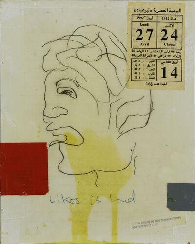 Donald Baechler, 'Likes it Loud', 1998