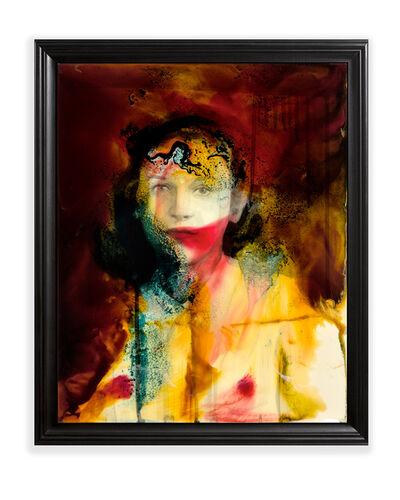 Keith Tyson, 'Unnatural Portrait - Scarlet', 2017