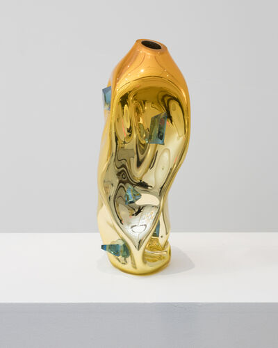 Jeff Zimmerman, 'Crumpled sculptural vessel', 2018