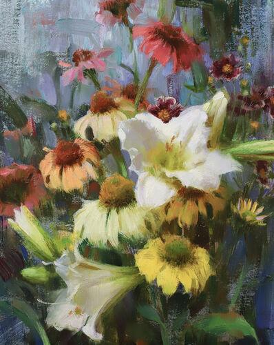 Daniel Keys, 'Daylilies, Echinacea, & Coreopsis', 2019