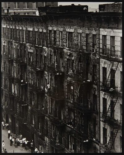 Bruce Davidson, 'Facade (from East 100th Street)', 1966-68