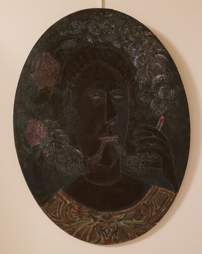 Rodolfo Morales, 'The Smoker', 1982