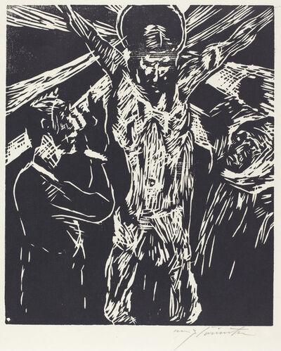 Lovis Corinth, 'The Crucifixion (Christus am Kreuz)', 1919