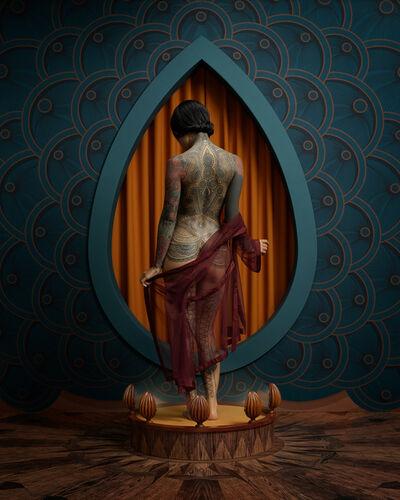 Christian Tagliavini, 'La ragazza tatuata', 2019