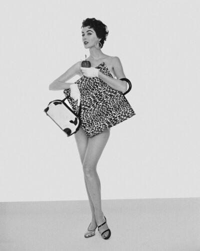 William Helburn, 'Dovima and Handbags, Jenna Bags', 1953