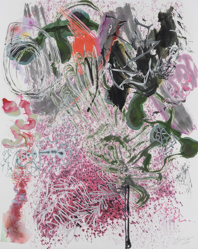 Wu Jian'an 邬建安, '500 Brushstrokes #47 五百笔 #47', 2018