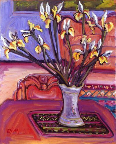 Jeffrey Hessing, 'Yellow Irises', 1994