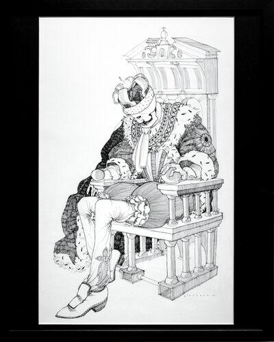 Kate Glasheen, 'Dead King 3 [18th Century Danish Lord]', 2018