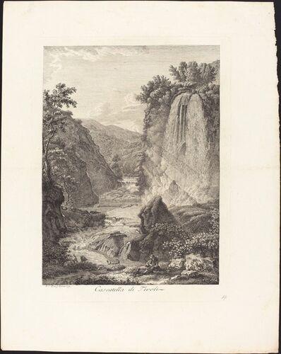 Albert Christoph Dies, 'Cascatella di Tivoli', 1792