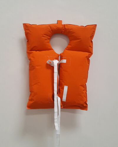 Phranc, '2018 Survival Series, Life Jacket #2', 2018