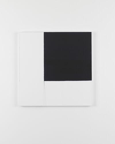Callum Innes, 'Exposed Painting Indigo', 2016