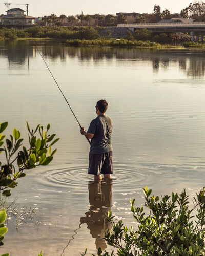 Anastasia Samoylova, 'Fishing', 2018