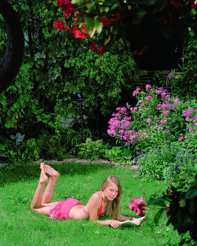 Angela Strassheim, 'Amy Reading', 2006