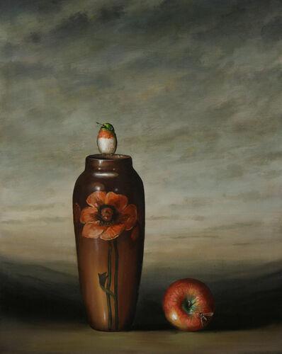 David Kroll, 'Vase and Apple', 2009