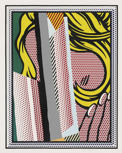 Roy Lichtenstein, 'Reflections on Hair', 1990