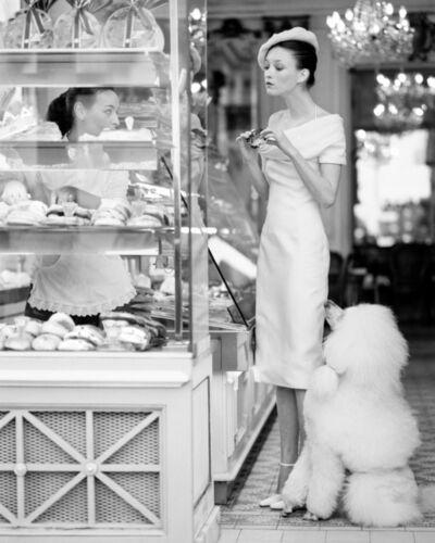 Arthur Elgort, 'Audrey Marnay in Paris, Vogue', 1999