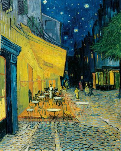 Vincent van Gogh, 'Terrace of a café at night (Place du Forum)', c. 16 September 1888