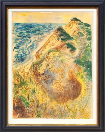 George Grosz, 'Dünen bei Truro', 1939