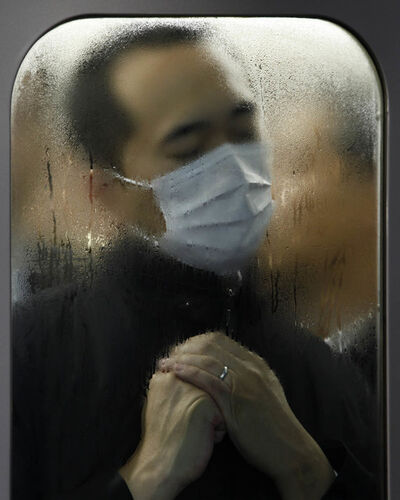 Michael Wolf (b. 1954), 'Tokyo Compression# 75', 2015