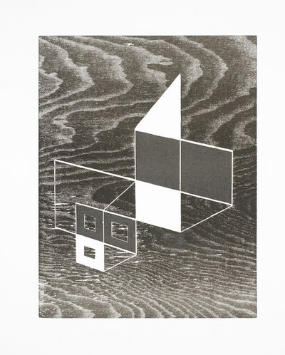 Josef Albers, 'W + P (State IV)', 1968
