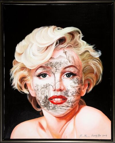 Huang Yan, 'Chinese Landscsape-M. Monroe from the Celebrity Series', 2009