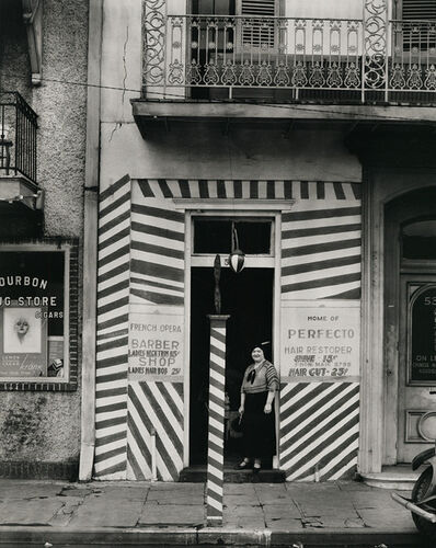 Walker Evans, 'Sidewalk and Shopfront, New Orleans', 1935