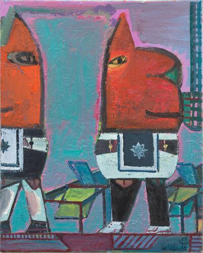 Walter Libuda, 'Man weiß Bescheid', 2015
